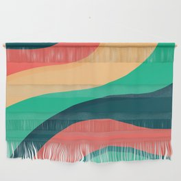 The river, abstract painting Wall Hanging