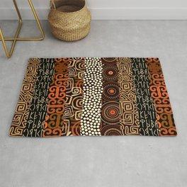 Geometric African Pattern Rug