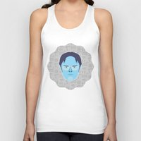 dwight Tank Tops featuring Dwight Schrute - The Office by Kuki