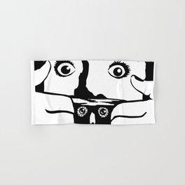 BRAINDEAD aka DEAD ALIVE Collectible Beth Bacon Design no. 3 Hand & Bath Towel