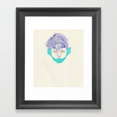 Untitled Head Framed Art Print