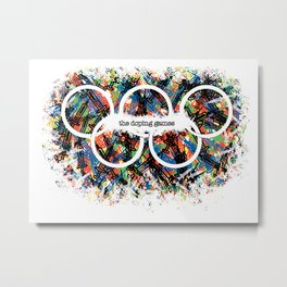 the doping games Metal Print
