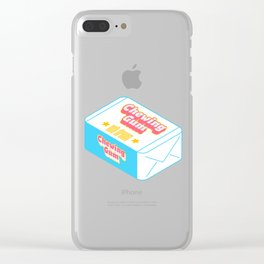 Chewing Gum Clear iPhone Case
