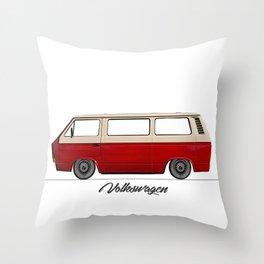 Vanagon Throw Pillow