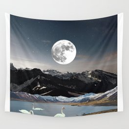 Swan Lake Wall Tapestry