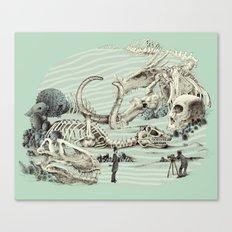The Lost Beach Canvas Print