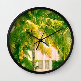 Art Deco Miami Beach #17 Wall Clock