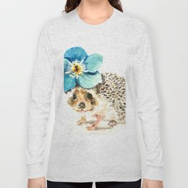 When life gets a little prickly, put a flower on it Long Sleeve T-shirt