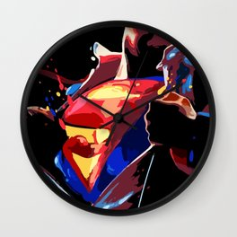 Superman - Secret Identity Wall Clock