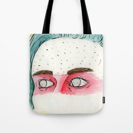 Eyes of a Fighter Tote Bag