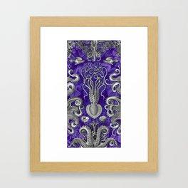 The Kraken (Purple - No Text) Framed Art Print