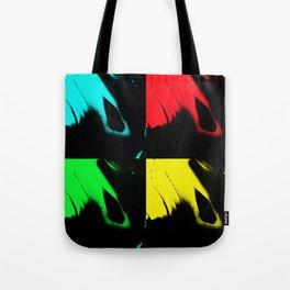 Agate Pop Art Tote Bag