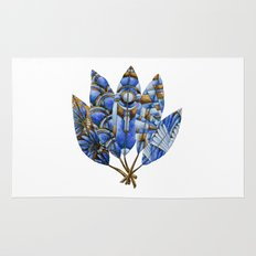 Gatsby Five Feathers Rug