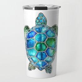 turtle in watercolors Travel Mug