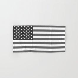 National flag of the USA, B&W version Hand & Bath Towel