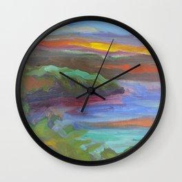 Mississippi Flow Wall Clock