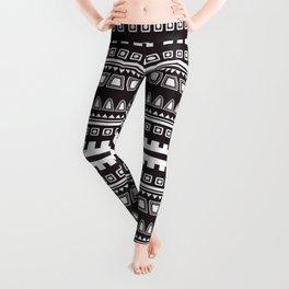 African Pattern Leggings