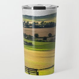Green and Pleasant Land Travel Mug