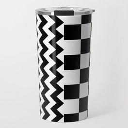 BESTEST (BLACK-WHITE) Travel Mug