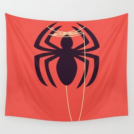 The Amazingly Bored Spider Wall Tapestry