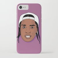 asap rocky iPhone & iPod Cases featuring ASAP Rocky by TheMohamz