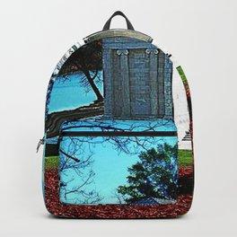 Temple of Music - Roger Williams Park - Providence, Rhode Island Autumn Scene Backpack