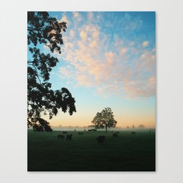 Autumn Fields Forever Canvas Print