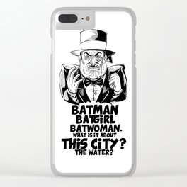 Classic Oswald Cobblepot: The Penguin Clear iPhone Case