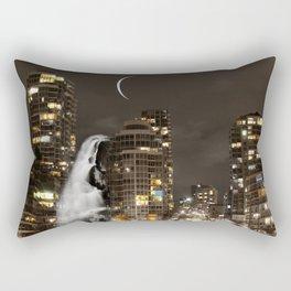 Skyline Falls Mindscape Rectangular Pillow