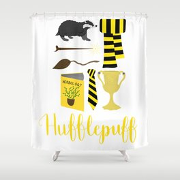 The House of Hufflepuff Shower Curtain