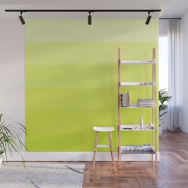 Chartreusey Ombre Wall Mural