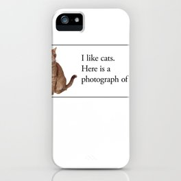 Cards for Engineers - Cats iPhone Case