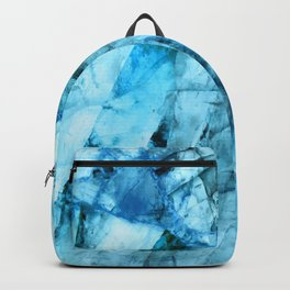Blue crystal Backpack
