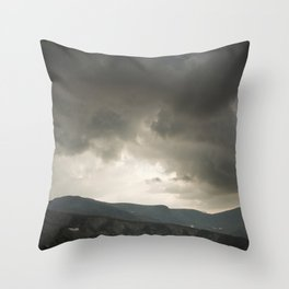 High pastures  Throw Pillow