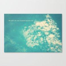 life's a fairytale Canvas Print