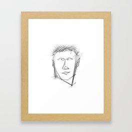 Neanderthal Framed Art Print