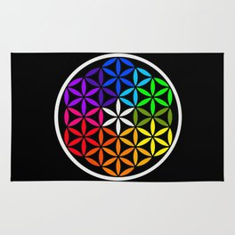 Secret flower of life Rug