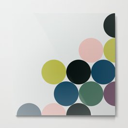 cluster    chill Metal Print