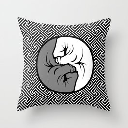 Way of the Fist Throw Pillow