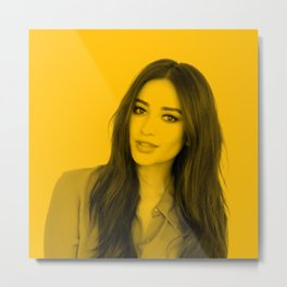 Shay Mitchell Metal Print