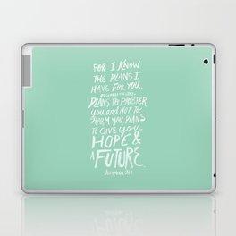 Jeremiah 29: 11 x Mint Laptop & iPad Skin