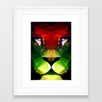 pride Framed Art Prints featuring Pride by Three of the Possessed
