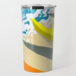 Let's Go Paddling Travel Mug