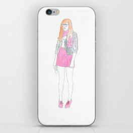 Typical Girl Donna iPhone Skin