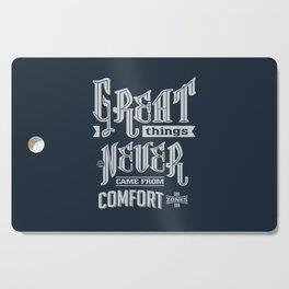 Comfort Zones - Motivation Cutting Board