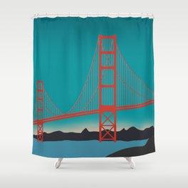 Golden Gate Bridge, San Francisco, California Landscape Shower Curtain