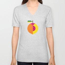 Fruit: Peach Unisex V-Neck