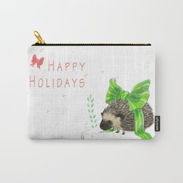 Happy Hedgeholidays! Carry-All Pouch