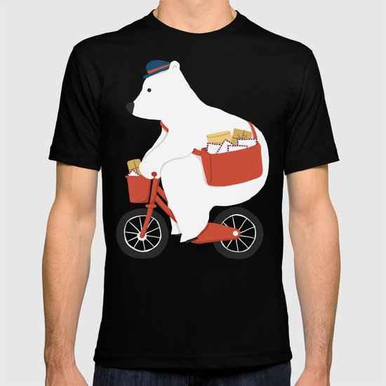 Polar bear postal express T-shirt