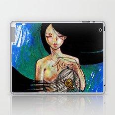 Woosh Hair Girl Laptop & iPad Skin